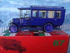 1/43 Rio (Italy)   Fiat omnibus 18 BL  1915  Diatto&Cavarini #87