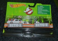 2016 HOT WHEELS GHOSTBUSTERS - GHOSTBUSTERS ECTO-1 AND ECTO-2 TWO PACK