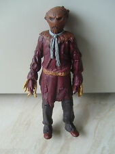 """BBC Dr Who Scarecrow blue scarf, tie version  5"""" jointed action figure model"""