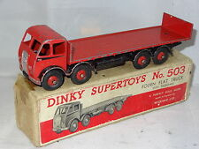dinky FODEN FLAT TRUCK WITH TAILBOARD TYPE 1 - very rare colour - 503