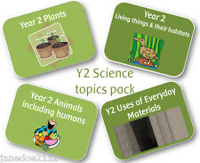 KS1 Year 2 Science BULK TOPIC PACK - Primary teaching resources on CD 2014