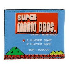 NINTENDO Super Mario Bros. 1985s Retro Gameplay Bi-fold Wallet (MW1PX6SMS)