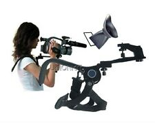 New Video camera shoulder support hand free tripod with DSLR Cameras viewfinder