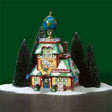 DEPT 56 NORTH POLE   AROUND THE WORLD IN 24 HOURS FLIGHT CENTER