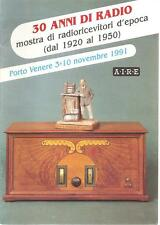 CATALOGUES EXHIBITIONS VINTAGE RADIO ANTIQUE WIRELESS SETS VALVES