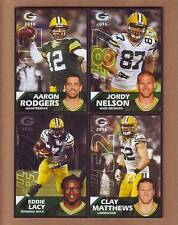 NEW 2016 Green Bay Packers Police TEAM SET - Aaron Rodgers Clay Matthews Jordy +