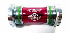 FSA BB-8681 Road Cyclocross CX Bike Bottom Bracket BB Italian 70mm for campy Red