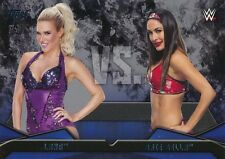 #19 LANA vs BRIE BELLA 2016 Topps WWE Then Now Forever WWE RIVALRIES DIVA