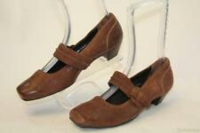 P Paul Green NEW! Distressed Brown Leather Mary Janes MISMATCH Women L5.5 R 6 US