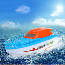 Electric Speedboat Speed Racing Boat Motor Baby Bath Tub Toy Gift Kids