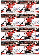 2011-12 MARTIN BRODEUR UPPER DECK SERIES 1 #87 NEW JERSEY DEVILS 15 CARD LOT