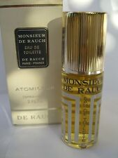 MONSIEUR DE RAUCH EAU DE TOILETTE 60ml spray RARE ORIGINAL DISCONTINUED