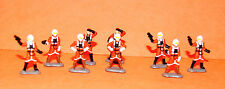 STAR WARS MICRO MACHINES REBEL PILOTS FIGURE SET LOOSE COMPLETE
