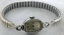 Vintage Women's StarLite Watch Speidel band 17 jewels Cased & Timed by Elgin