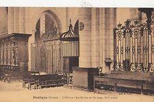 BF11476 pontigny yonne l abbaye los grilles en fer forge france front/back image