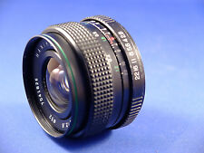 M.42 SCREW FIT, HANIMEX 28MM, F2.8, WIDEANGLE  LENS . IDEAL FOR DIGITAL