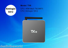 2GB/32GB TX8 Android 6.0 Smart TV Box Amlogic S912 Octa Core Full Loaded Mini PC