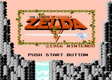 ZELDA -- NES Nintendo GOLD Game GUARANTEED WORKING! Pins clean TESTED SAVES!