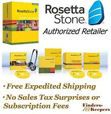 Rosetta Stone US American English 1 Homeschool + Audio