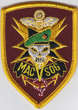 Velcro Airsoft Paintball Patch MAC V SOG  MACV SOG MACVSOG Vietnam Laos Cambodia