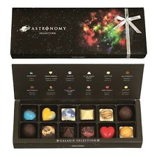 ASTRONOMY GALAXY SELECTION Assorted Chocolate Box 12pcs F/S Valentine's Day