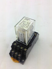 OMRON MY2K (24VDC) Relay 24VDC Double Pole Double Throw with base & LED Ind.