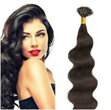 "Pre-Tip Cold Fusion I-Tip Body 22""Euro Remy Hair Extensions 100 Strand Any Color"