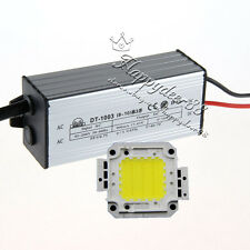 30W White LED Light Lamp Panel & 30W AC95-240V Waterproof High Power LED Driver