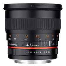 Samyang 50mm F1.4 AS UMC Fast Prime Lens: Canon EF Mount CA2525