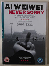 AI WEI WEI / NEVER SORRY / CHINESE DISSIDENT ARTIST / DOCUMENTARY / 2012