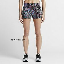Nike Sidewinder Epic Lux Womens Running Shorts S Multi Gym Training New
