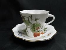 Coalport Strawberry Scalloped, Strawberries, Butterflies: Cup and Saucer Set (s)