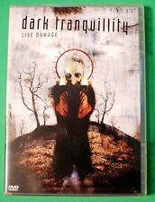 Dark Tranquility Live Damage DVD 2004 LIKE NEW Complete with Case and Booklet