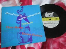 Elvis Costello & The Attractions Clubland F-Beat XX 12 UK Vinyl 7inch 45 single