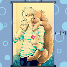 Decor Home Wall Scroll Painting Anime Japan Poster Yuri On Ice Yuri Plisetsky
