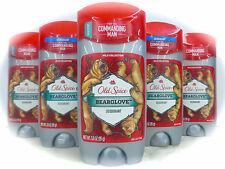 5 X OLD SPICE BEARGLOVE  Deodorant