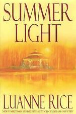Summer Light by Luanne Rice (2001, Hardcover)