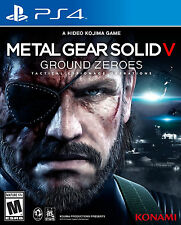Metal Gear Solid V: Ground Zeroes  (Sony PlayStation 4, 2014) NEW