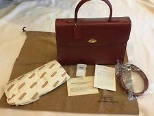 NEW TAGS ~ Vintage COACH ITALY ~ Purse bag ~ Copley Tote ~ Madison red Leather