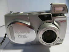 Olympus CAMEDIA C 300Zoom 3.0 MP Digital Camera - Silver