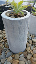 Bali Traditional Cement Hand Made Pipe Great for Planter Pot Tropical Garden Lrg