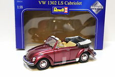 1:18 Revell VW Käfer 1302 LS Cabriolet red NEW bei PREMIUM-MODELCARS