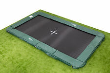 10x17ft IN GROUND Rectangle Trampoline - Inc. Pads/Mat/Springs/Frame
