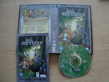 THE SETTLERS IV MISSION   PC CD complete!!! + manual!