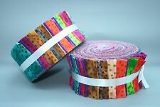 "Fabric Freedom Jelly Roll Strips - Melody - 40 pieces 2.5"" x 44"" FJ5612"