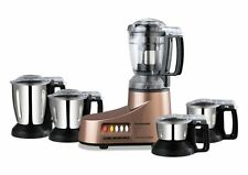 Panasonic Super Mixer Grinder MX AC-555, 550 watts, 5 jars (Bronze) (SMP2)