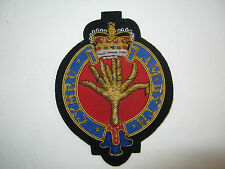 Welsh Guards Wire Embroidered Bullion Blazer Badge - British Military
