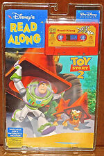 Disney Pixar Toy Story 2 Read Along Book Cassette Tape 1999 SEALED NEW WITH BOOK