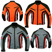 New Short Motorbike Motorcycle Jacket Wind Waterproof Armoured All Sizes/Weather