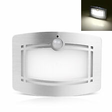 Auto On Motion Sensor Activated LED Wall Battery Operated Wireless Night Light